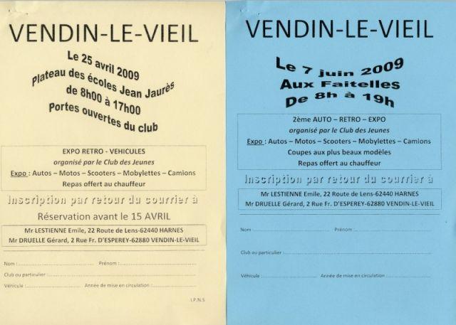 Expo à Vendin-le-Vieil en 2 dates 02.8