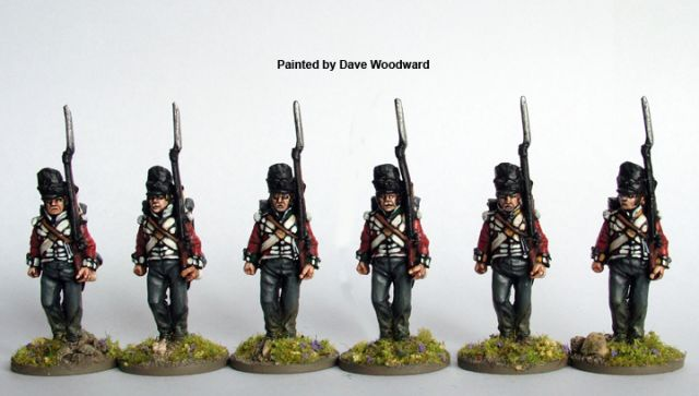 L'uniforme du 23e Royal Welsh Fuzileers à Waterloo 27.15