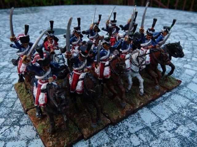 Le 1er Hussards en Espagne 15.32