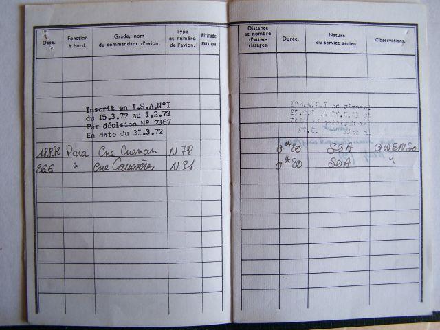 Noratlas n° 31- mise en service 17 juin 1954 - Fin de service 27 avril 1982 - à Brienne (Aube) 27.100