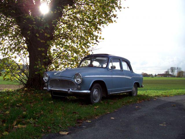 "Simca Aronde P60 ""Blue Bird"". 15.391"