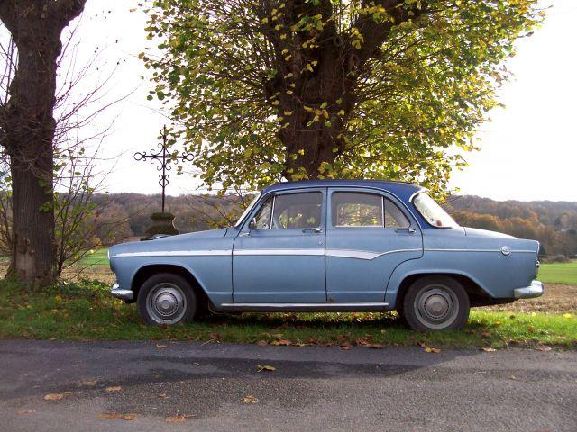 "Simca Aronde P60 ""Blue Bird"". 15.392"