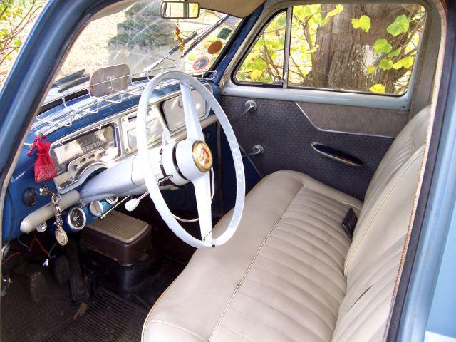 Simca aronde p60 blue bird for Interieur 1960