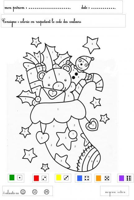 Le forum de la maternelle coloriage magique - Coloriage magique de noel a imprimer ...