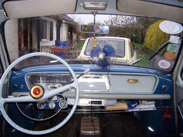 "Simca Aronde P60 ""Blue Bird"". 23.269"