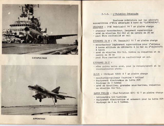Le porte-avions CLEMENCEAU 03.241