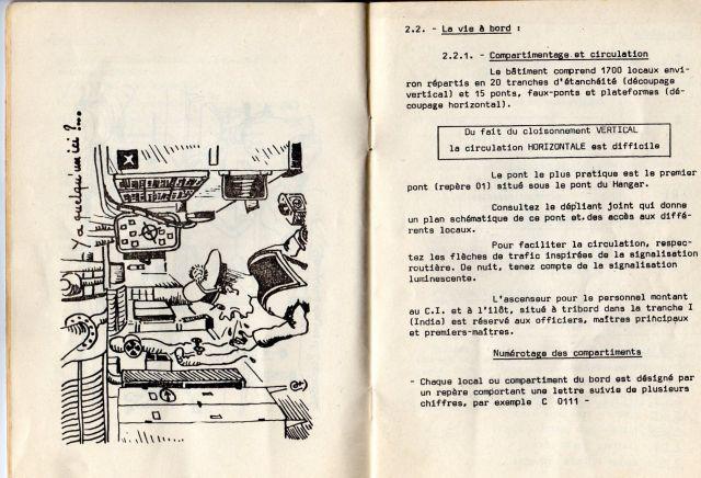 Le porte-avions CLEMENCEAU 03.245