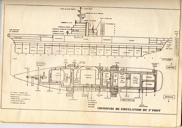 Le porte-avions CLEMENCEAU 03.253