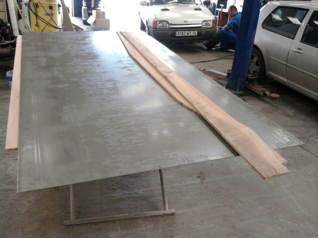 assemblage et fabrication d un châssis de Ford 32 roadster  10.335