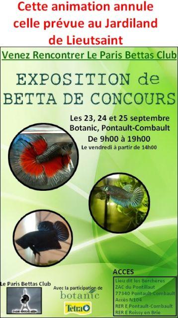Exposition PBCiste en septembre MODIFICATION DE LIEU DE L'EXPOSITION 20.226