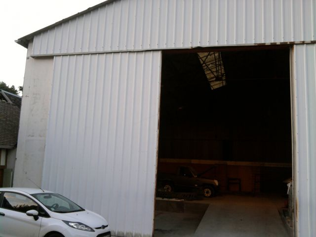 un garage façon street Custom en Normandie  23.320