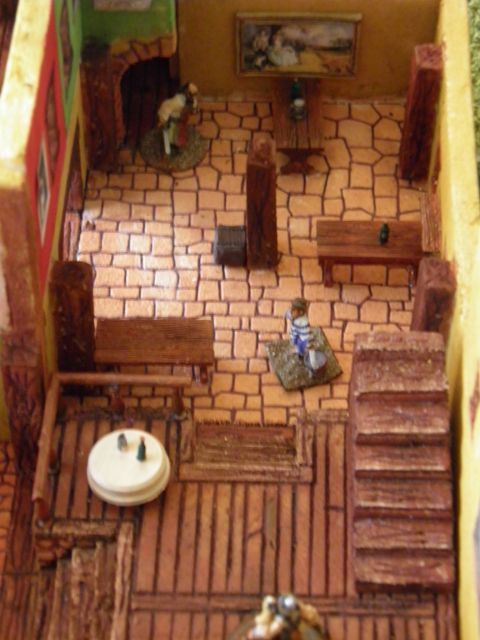 Village Pirate des Caraïbes Disney d'Isigny 01.239