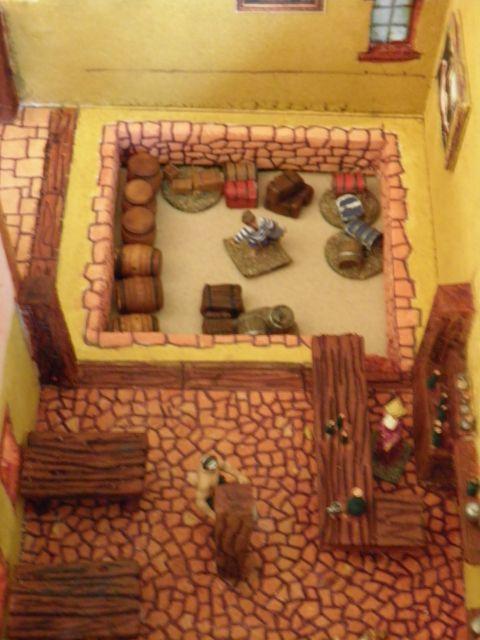Village Pirate des Caraïbes Disney d'Isigny 01.243