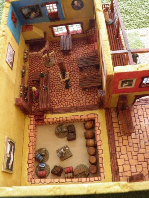 Village Pirate des Caraïbes Disney d'Isigny 01.245