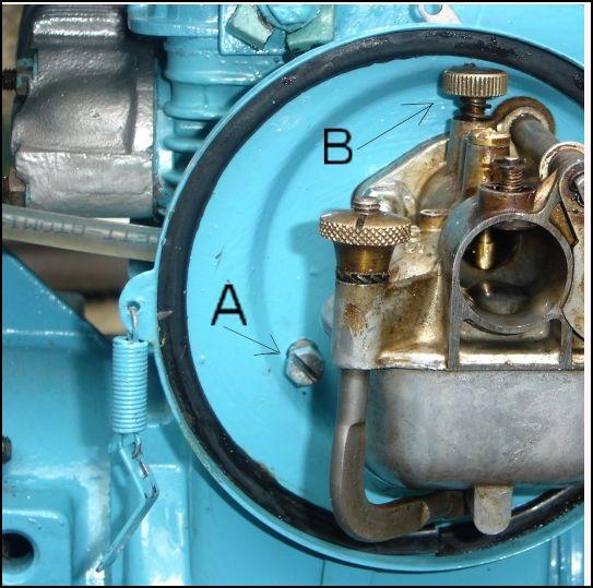 reglage carburateur solex moteur bernard