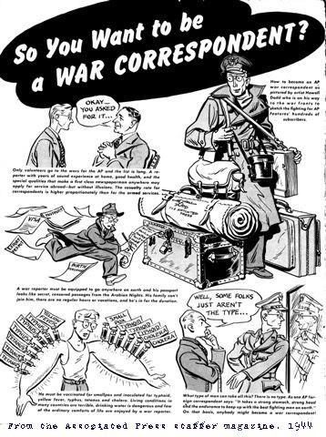 uniforme du correspondant de guerre 06.1