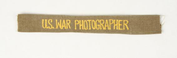 uniforme du correspondant de guerre 06.252