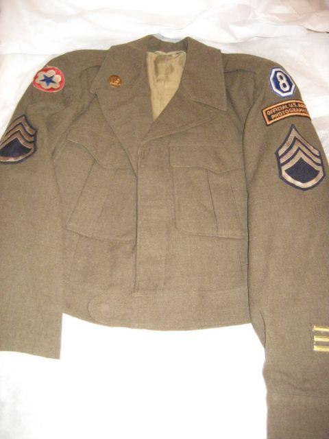 uniforme du correspondant de guerre 08.171