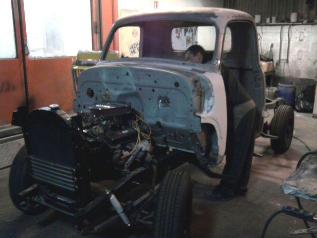 transformation Chevrolet 54 en v8 350 07.192