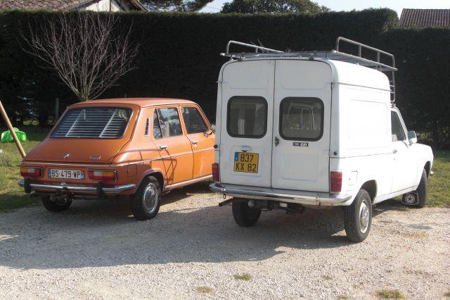 Les voitures de Phoz Simca 1100 ES  1977- 1100 VF2 1983 12.65