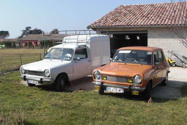 Les voitures de Phoz Simca 1100 ES  1977- 1100 VF2 1983 12.67