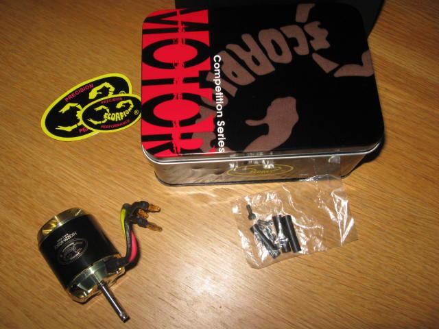 Vends Scorpion HK3226 - 900 Kv 21.97