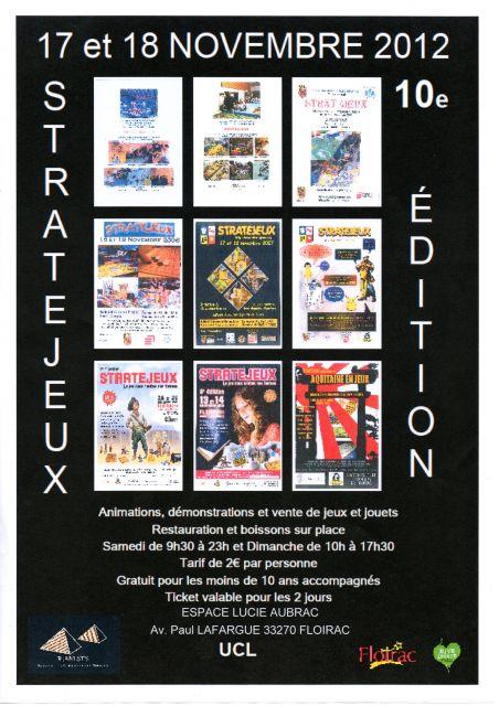 Salon des jeux STRATEJEUX 2012 22.70