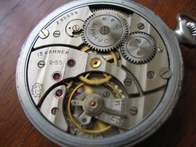 Molnija, la Rolex russe 24.86