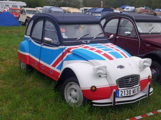 20ème Rencontre Nationale des 2cv Clubs de France à Lavaré (72) 9-12 mai 2013 14.178