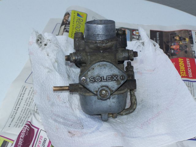 carburateur solex f 22