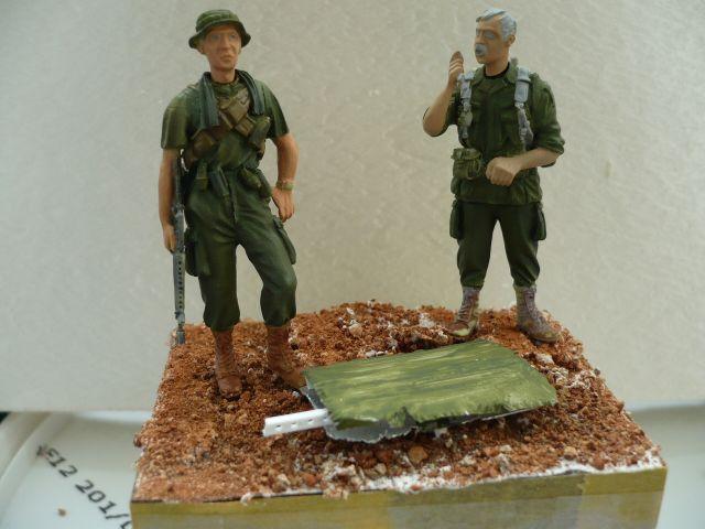 GI's vietnam 54mm marque verlinden ref 0532 the grunts 23.131