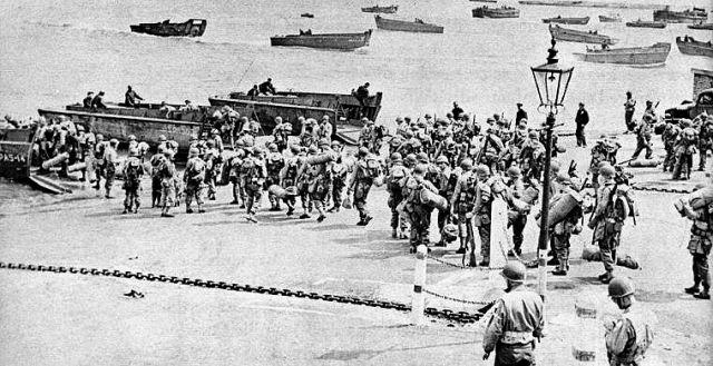 Opération  exercice TIGER  avril 1944 cote de slapton .  03.90