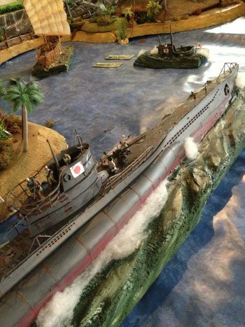 L'attaque de SHIN' JUWAN' (le port au perles Japonais) 06.130