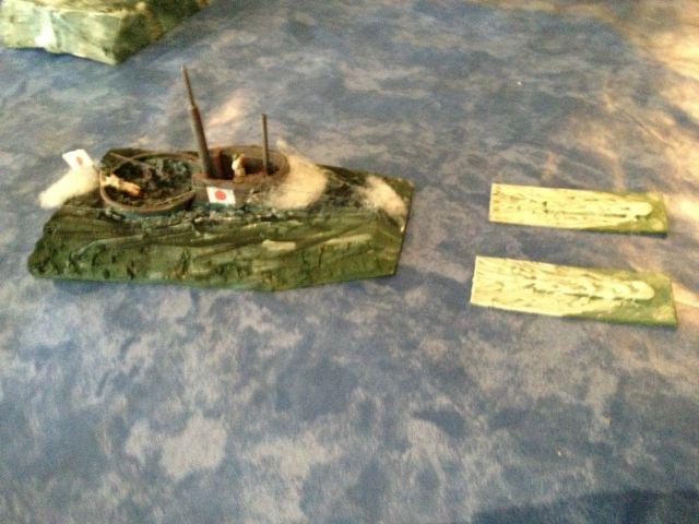 L'attaque de SHIN' JUWAN' (le port au perles Japonais) 06.131