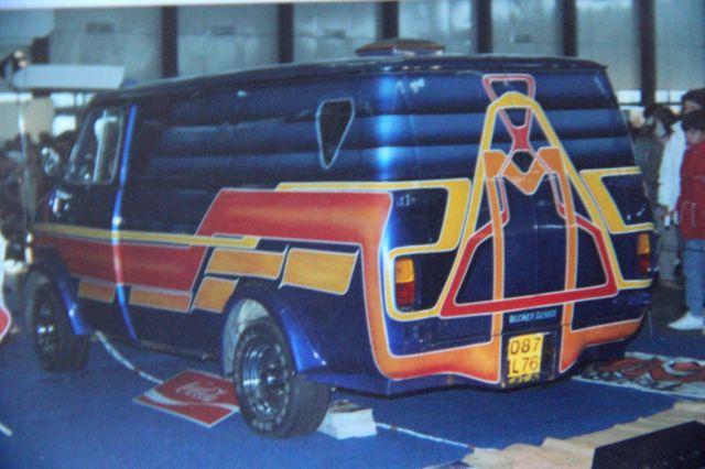 Salon auto moto collection - 2003 - stand fifties gang 27.34