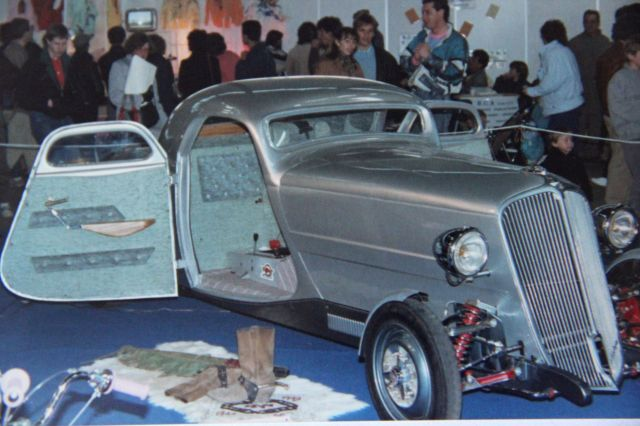 Salon auto moto collection - 2003 - stand fifties gang 27.39