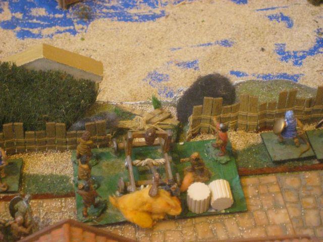 LE SIEGE D'APHRIDOSIA avec HAIL CESAR 28mm 01.143