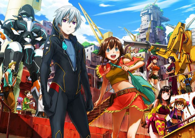 Suisei no Gargantia (Gargantia on the Verdurous Planet) 25.9
