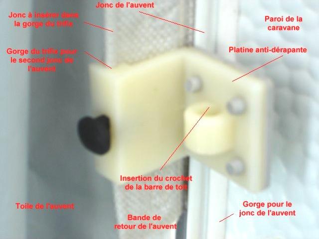Fixation auvent crochet sans percer page 2 forum for Fixation tableau sans percer
