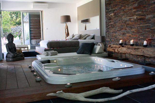 Spa dans la chambre spas filtration - Hotel spa dans la chambre ...