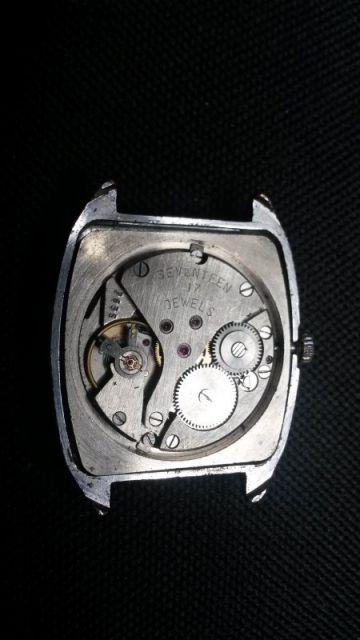 Remise en état d'une Poljot 17 jewels 13.102