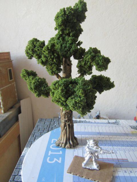 faire du feuillage pour arbres ou haies réaliste 06.29