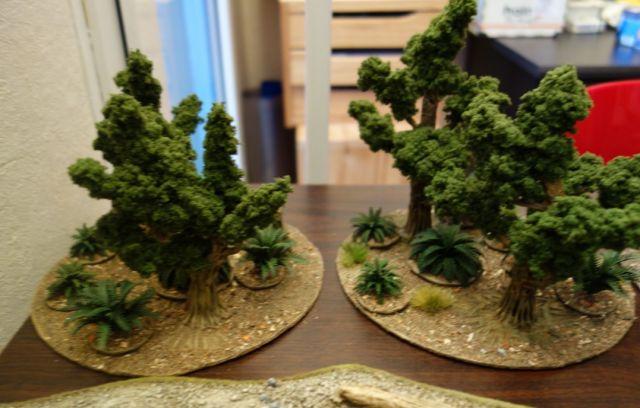 faire du feuillage pour arbres ou haies réaliste 06.31