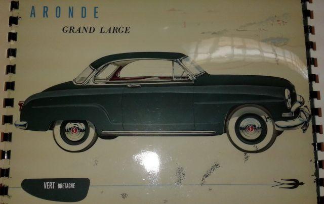 Restauration d'une SIMCA Aronde Grand Large de 1955 surnommée L'Arlésienne ... 02.5