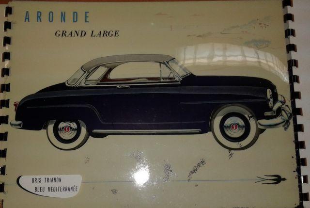 Restauration d'une SIMCA Aronde Grand Large de 1955 surnommée L'Arlésienne ... 02.7
