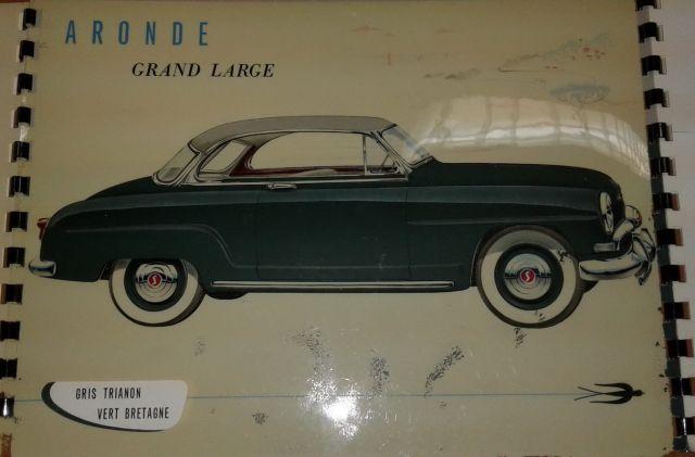 Restauration d'une SIMCA Aronde Grand Large de 1955 surnommée L'Arlésienne ... 02.8