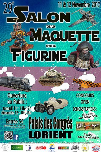 29 me salon de la maquette et de la figurine de lorient for Salon de la maquette paris 2017