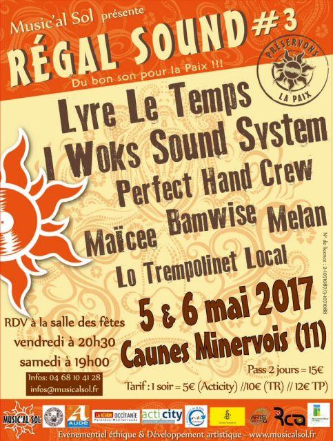 Festival Régal Sound 03.19