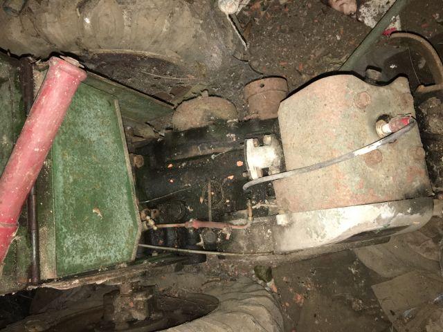 labor - Vieux motoculteur Labor type U 01.38