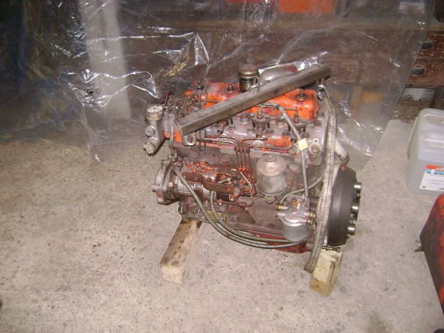 restauration - restauration d'un tracteur ENERGIC 519 B 24.14